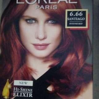Red hairdye