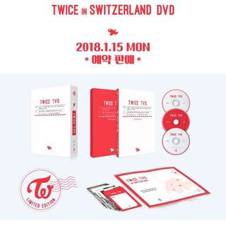 [PREORDER] TWICE TV5 : TWICE in Switzerland Photobook