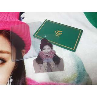 Tzuyu Photocard from TWICE Blanket