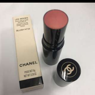 Chanel Lea beiges healthy glow sheer color stick Blush no.23 胭脂