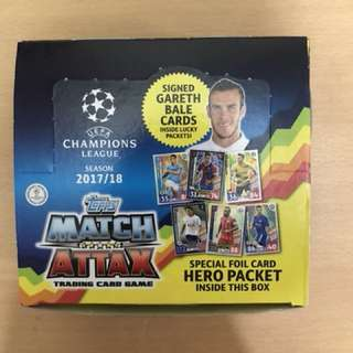 FREE SS Card - Match Attax 17/18 Champion League Cards