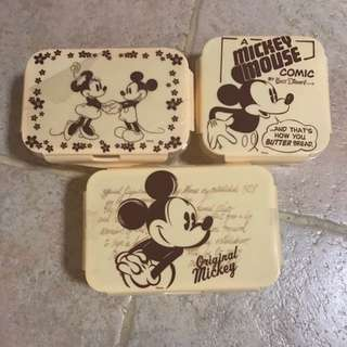 MICKEY MOUSE LUNCH BOXES😍😍😍