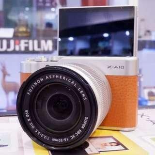 Fujifilm X-A10 16-50mm f3.5-5.6 OIS II Kredit bisa 6bln bisa