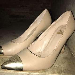 pink gold heels tltsn