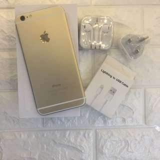 iphone6plus 16g gold 金色 99%new no scratches no dent 100%original