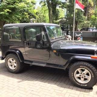 Jeep wrangler yj tahun 98