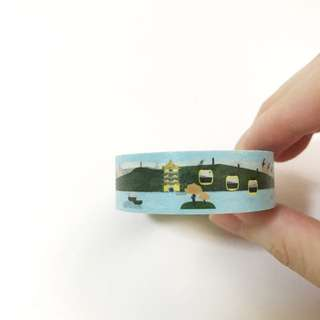 Sun Moon Lake Washi Tape