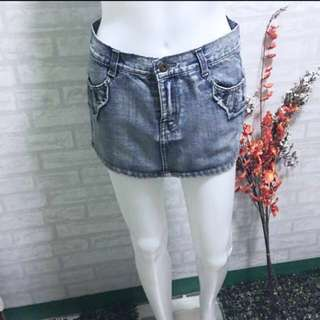 DENIM/MAONG SKIRT