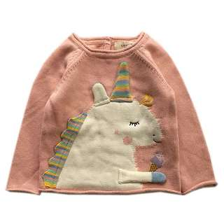 Unicorn knitted top