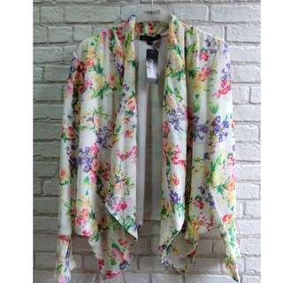 [NEW] Cardigan Putih Bunga Mission72