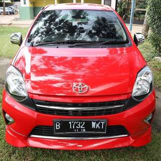 AGYA TRD MANUAL 2014 - RED