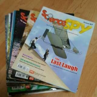 Science Spy - 24 books