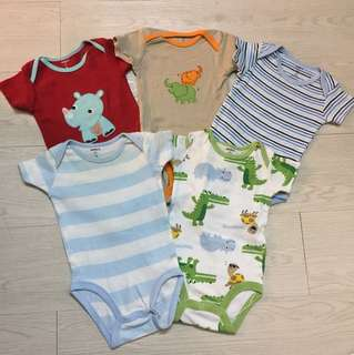 3 pc set Bodysuits + 2 pc foc