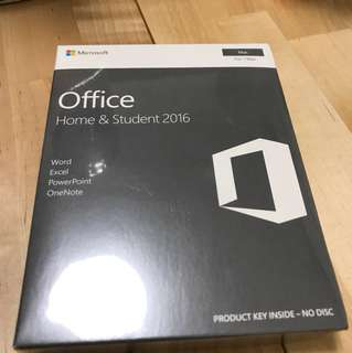 Microsoft Office Home &Student 2016 Life Time