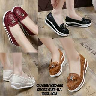 CHANEL WEDGES SHOES 9183-11A