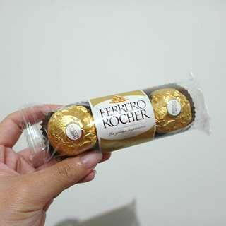 義大利金莎巧克力 3粒裝