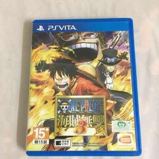 PSV, PS Vita, One Piece Pirate Warrior 3- Chinese