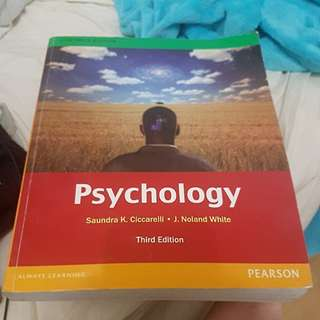 Psychology (3rd Edition) by Ciccarelli & White