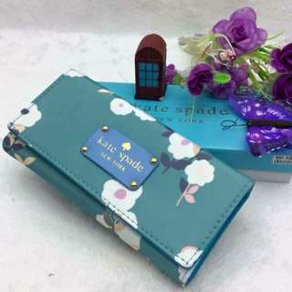 Kate Spade wallet foldable with box