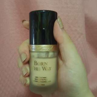 "Too Faced ""Born This Way"" Medium-to-Full Coverage Foundation in Snow"