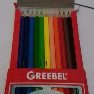 Pensil Warna Greebel