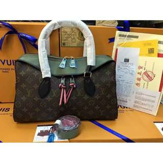 LV 2018 authentic overrun bag with receipt 1