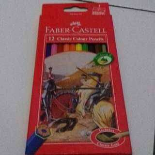 Pensil Warna Faber Castel