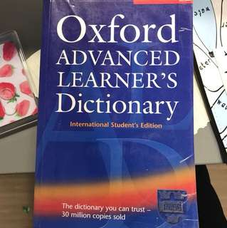Oxford advanced learners dictionary(7th edition)