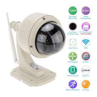KKmoon WiFi IP Camera