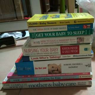 Parenting, pregnancy, breastfeeding Books : quality good condition parenting books