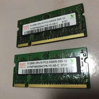 Old laptop ram... actually new cos took out from my computer upgrade last time.