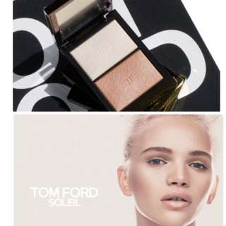 ✨LUXURY ITEM✨1 ITEM-3 USES: ✨SHADE✨HIGHLIGHT✨BLUSHER NOW:$88!!! Tom Ford Moodlight Illuminator Duo BNIB