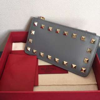 valentino coins purse card holder