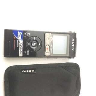 Sony recorder
