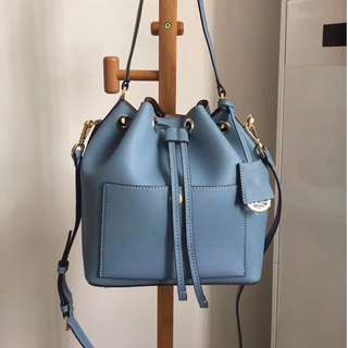 Michael Kors Greenwich Saffiano Leather Bucket Bag