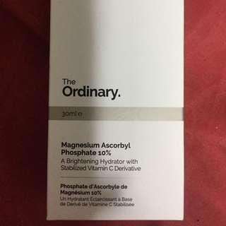 the ordinary magnesium ascorbyl phosphate moisturizer