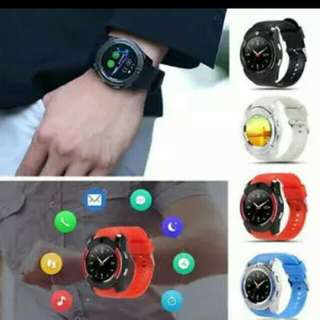 smartwatch V8 with camera