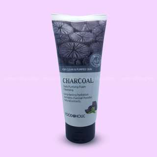 [Bnew] Foodaholic Charcoal Daily Purifying Foam Cleansing 180ml