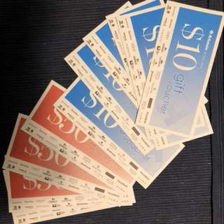 $280 worth of robinsons voucher at $250 !