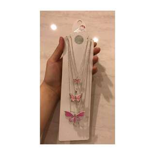 Butterfly necklace (authentic)