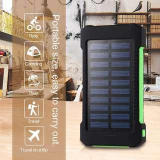 全新太陽能充電器 Brand New 30000mAh Dual USB Portable Solar Battery Charger Solar Power Bank