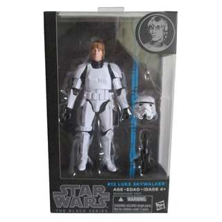 Star Wars Black Series Luke Skywalker Stormtrooepr Disguise