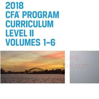 2018 CFA Level 2 Wiley Curriculum