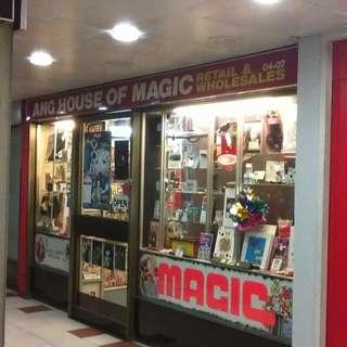 More magic tricks at the shop