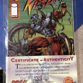 RIPCLAW WIZARD no 1/2. With certificate of Authenticity.