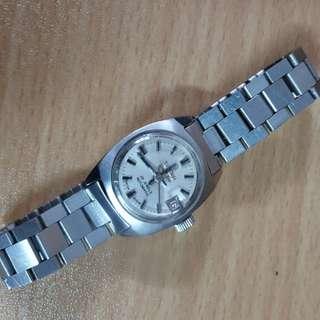 梅花女自动錶