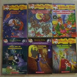 Geronimo / Thea Stilton books
