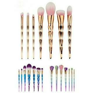 7pcs unicorn brush set