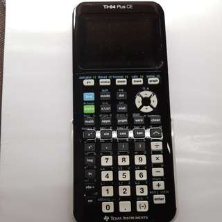 NEW TI-84 Plus CE Texas Instruments Graphic Calculator