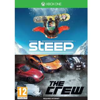 Steep and The Crew. Xbox One Games